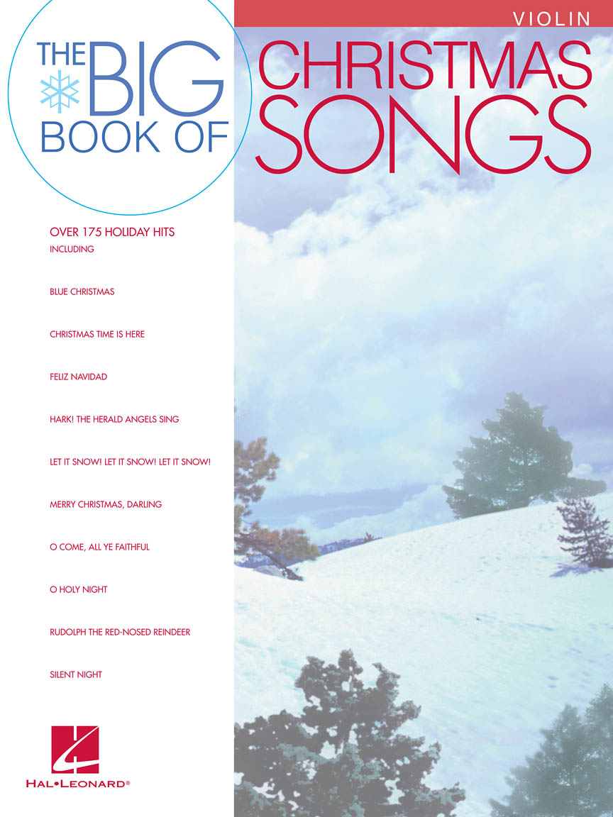 Product Cover for Big Book of Christmas Songs for Violin