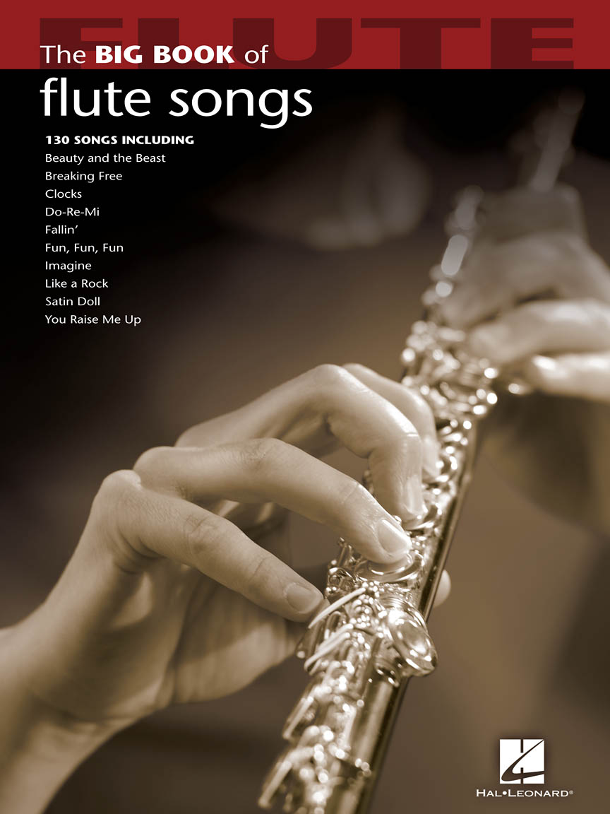 Product Cover for Big Book of Flute Songs