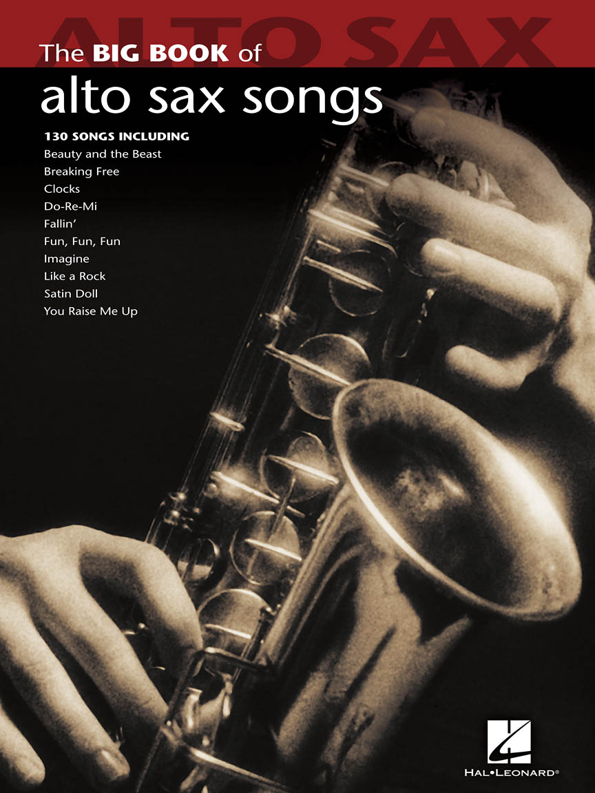 Product Cover for Big Book of Alto Sax Songs
