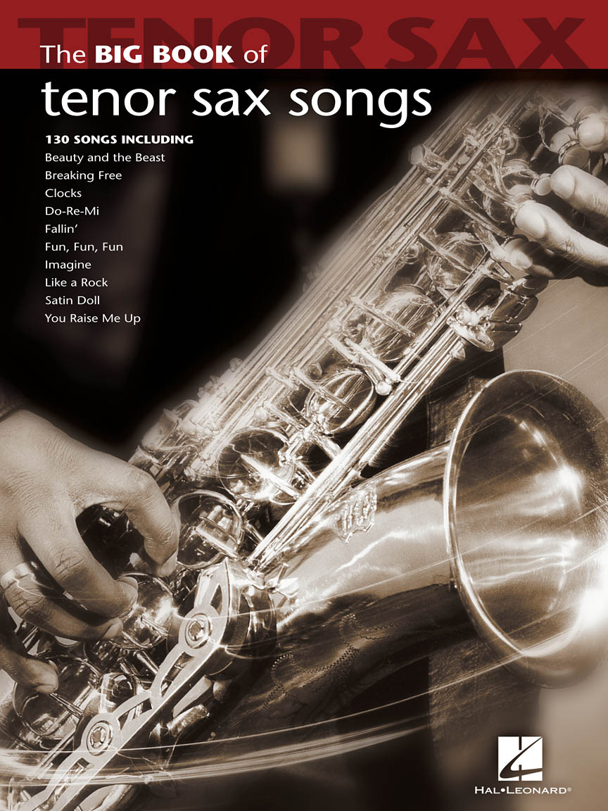 Product Cover for Big Book of Tenor Sax Songs