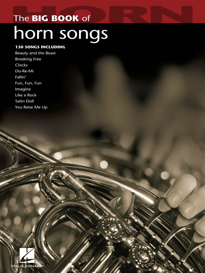 Product Cover for The Big Book of Horn Songs