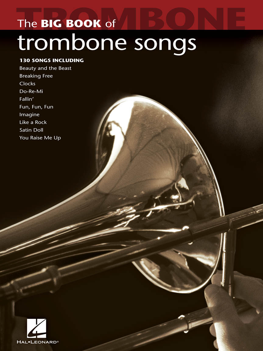 Product Cover for Big Book of Trombone Songs