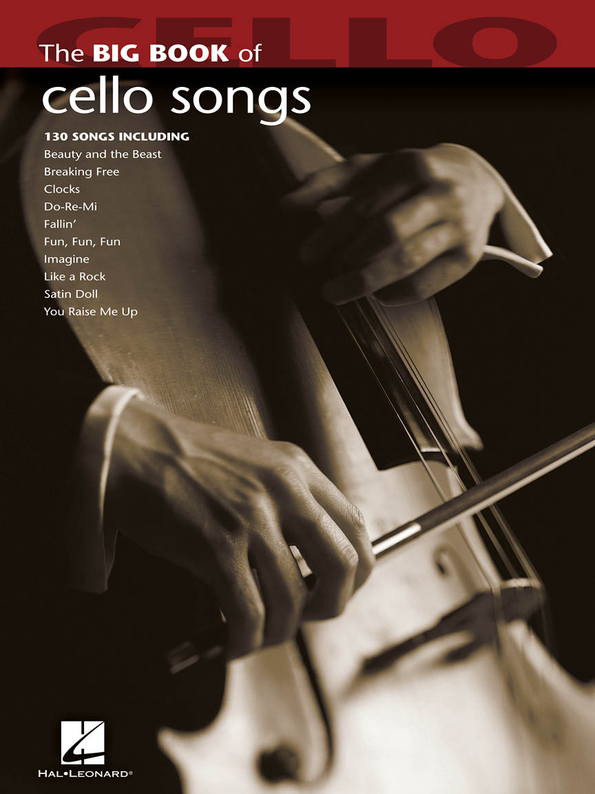 Product Cover for Big Book of Cello Songs