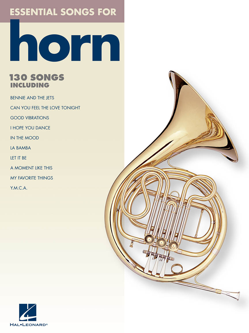 Product Cover for Essential Songs for Horn