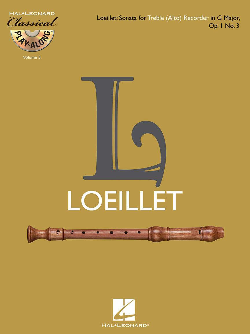 Product Cover for Treble (Alto) Recorder Sonata in G Major, Op. 1, No. 3