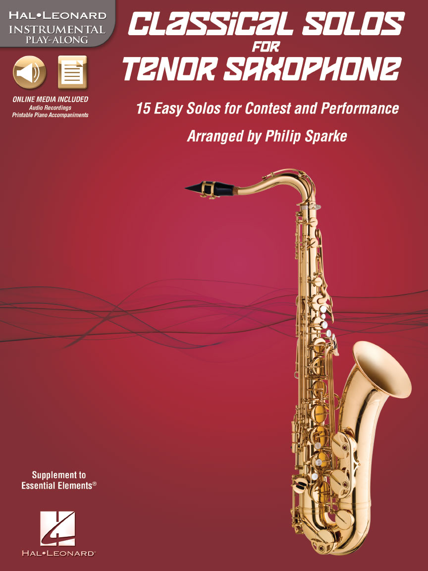 Product Cover for Classical Solos for Tenor Saxophone