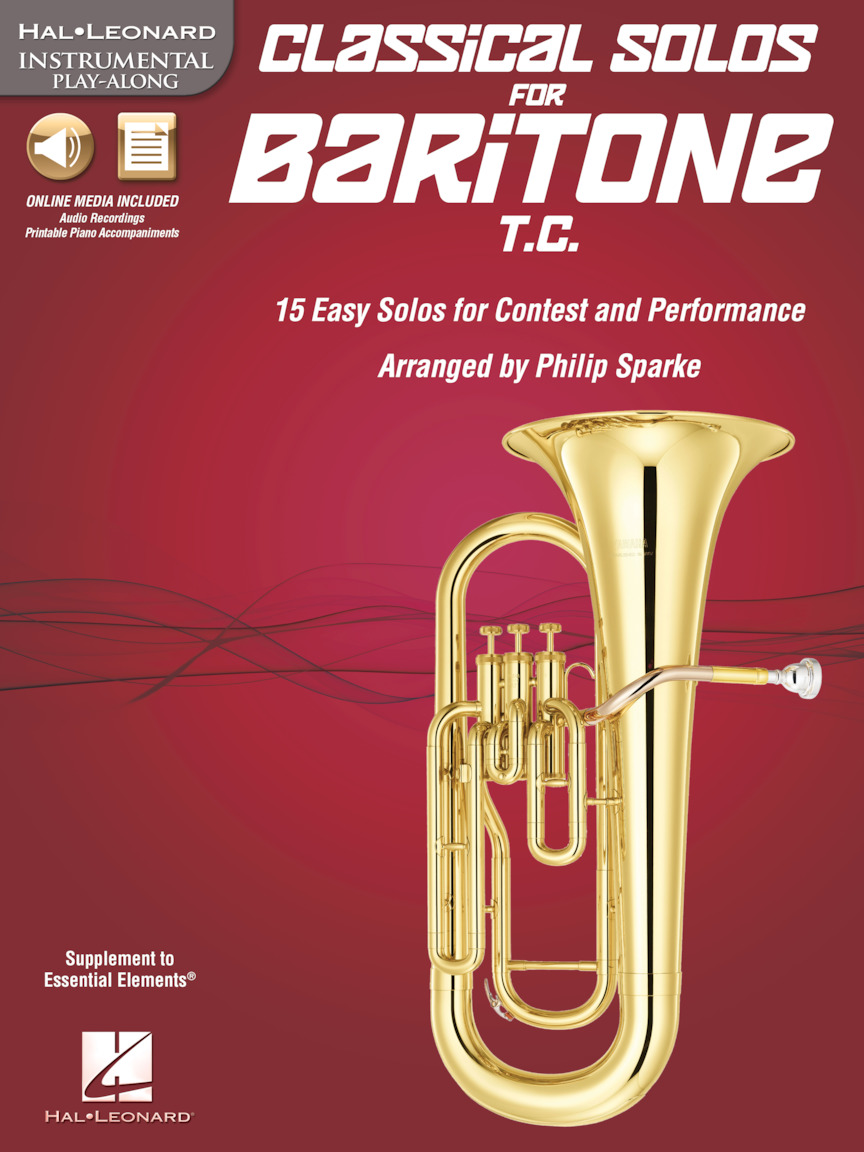 Product Cover for Classical Solos for Baritone T.C.
