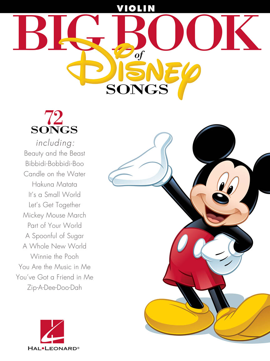 Product Cover for The Big Book of Disney Songs
