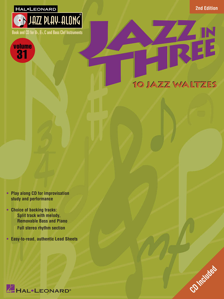 Product Cover for Jazz in Three – Second Edition