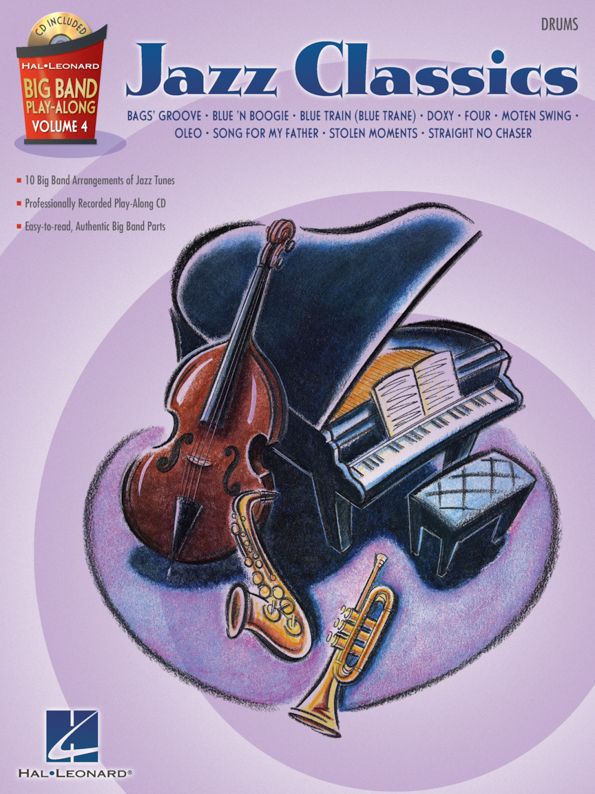 Product Cover for Jazz Classics – Drums