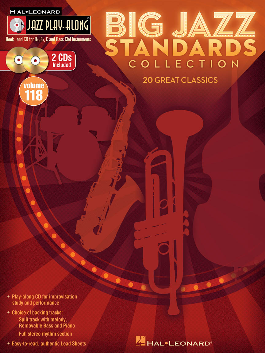 Product Cover for Big Jazz Standards Collection