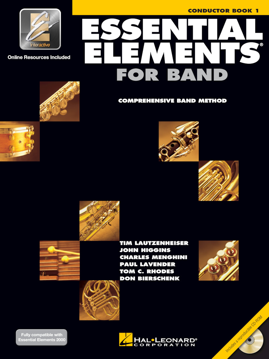 Product Cover for Essential Elements for Band – Conductor Book 1 with EEi