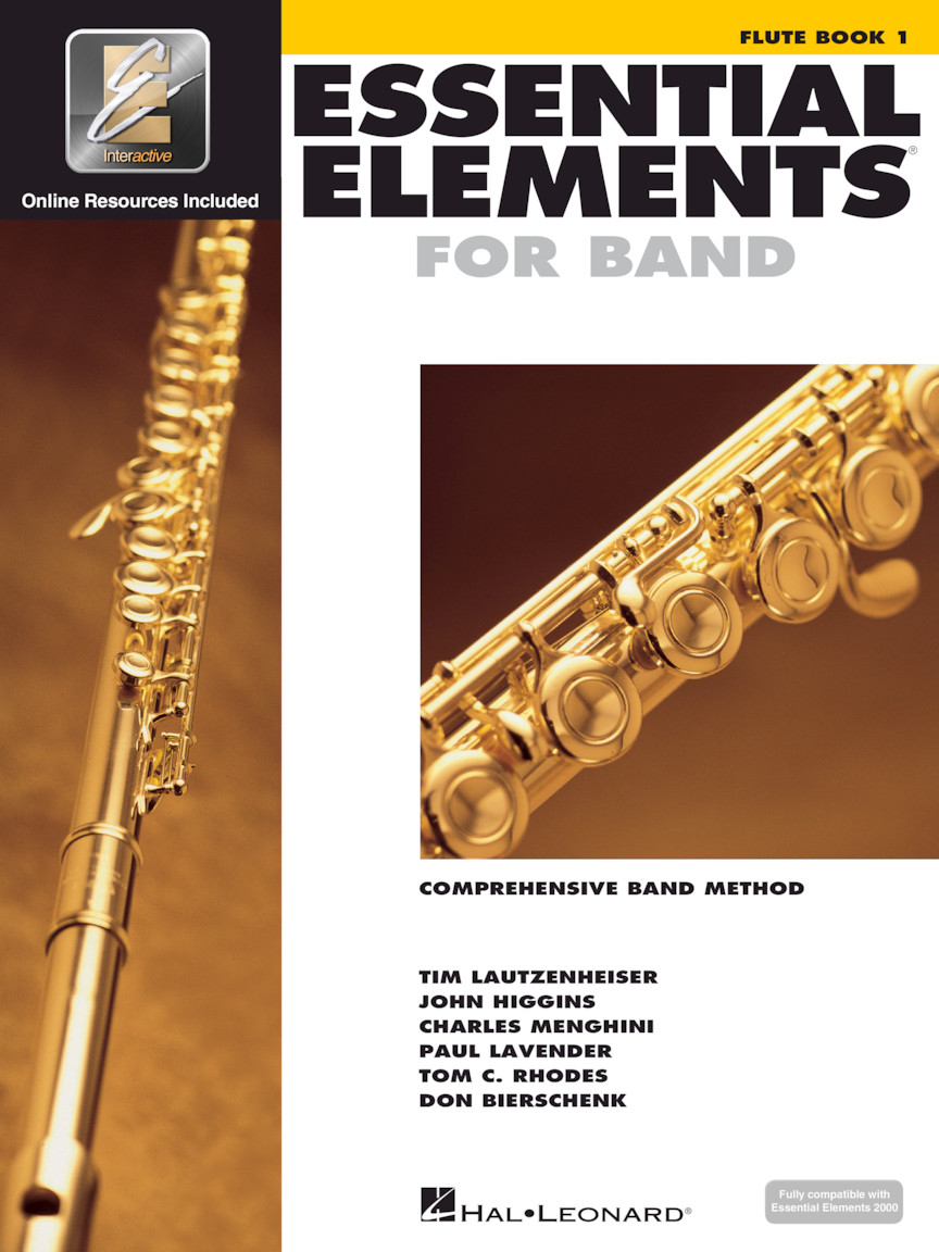 Product Cover for Essential Elements for Band – Flute Book 1 with EEi