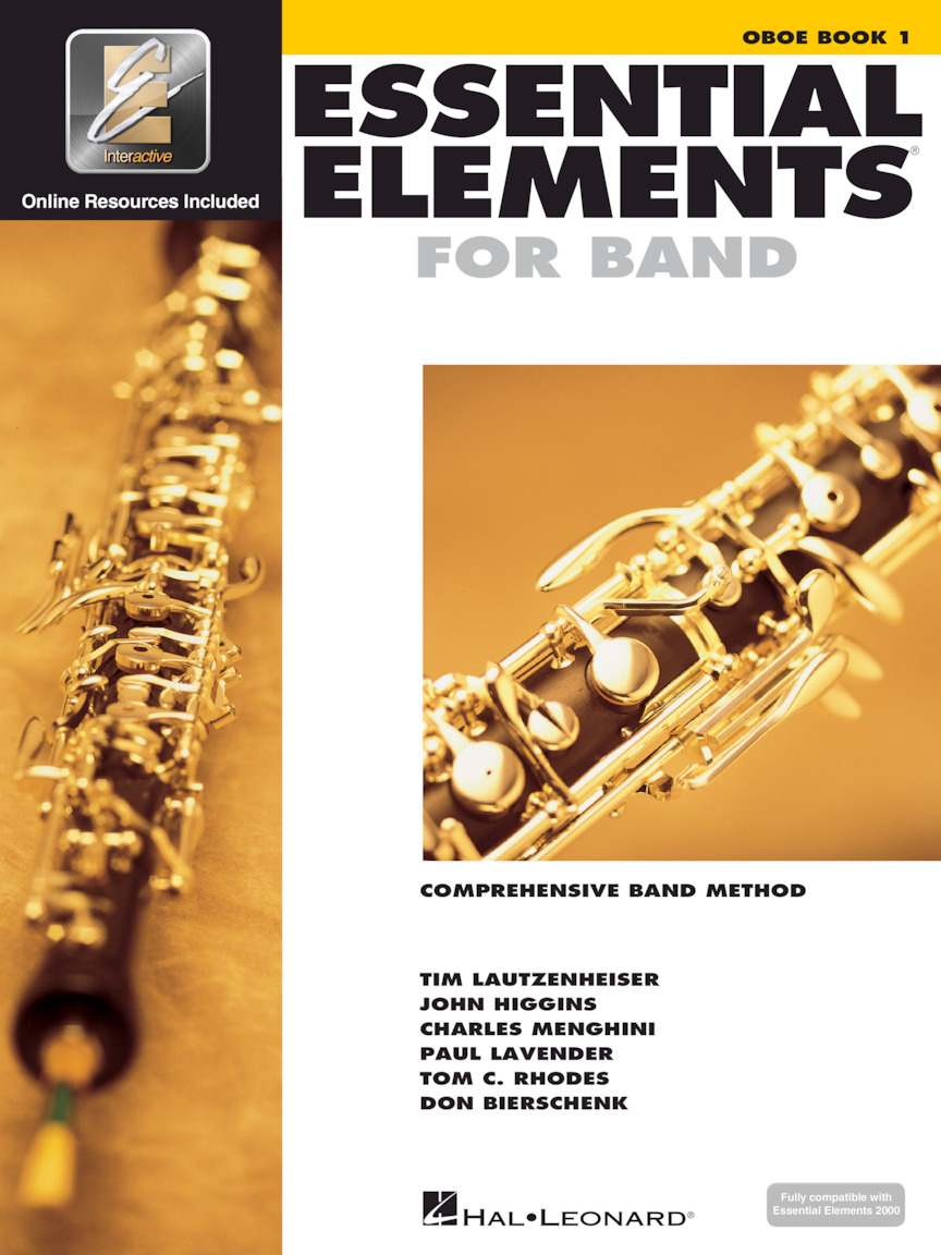 Product Cover for Essential Elements for Band – Oboe Book 1 with EEi