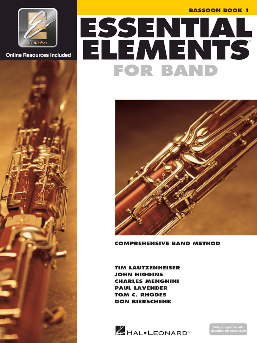 Essential Elements for Band – Bassoon Book 1 with EEi