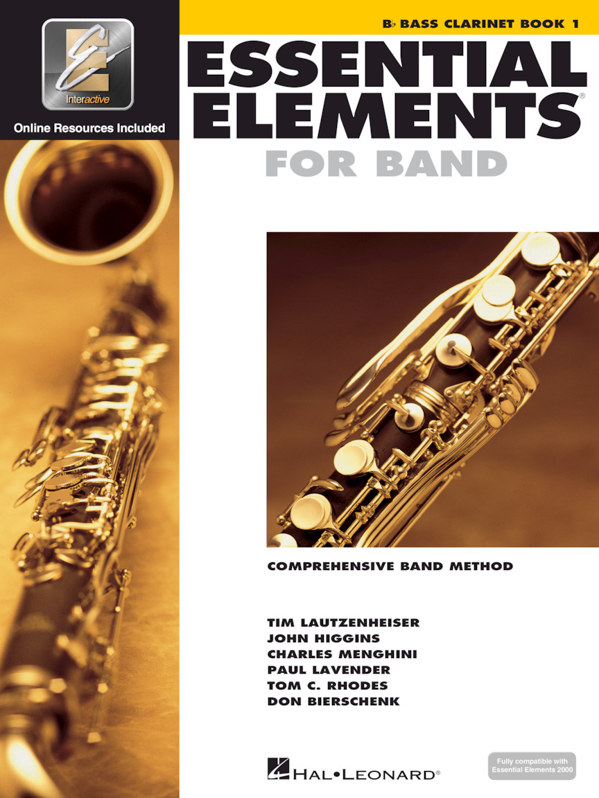 Essential Elements for Band – Bb Bass Clarinet Book 1 with