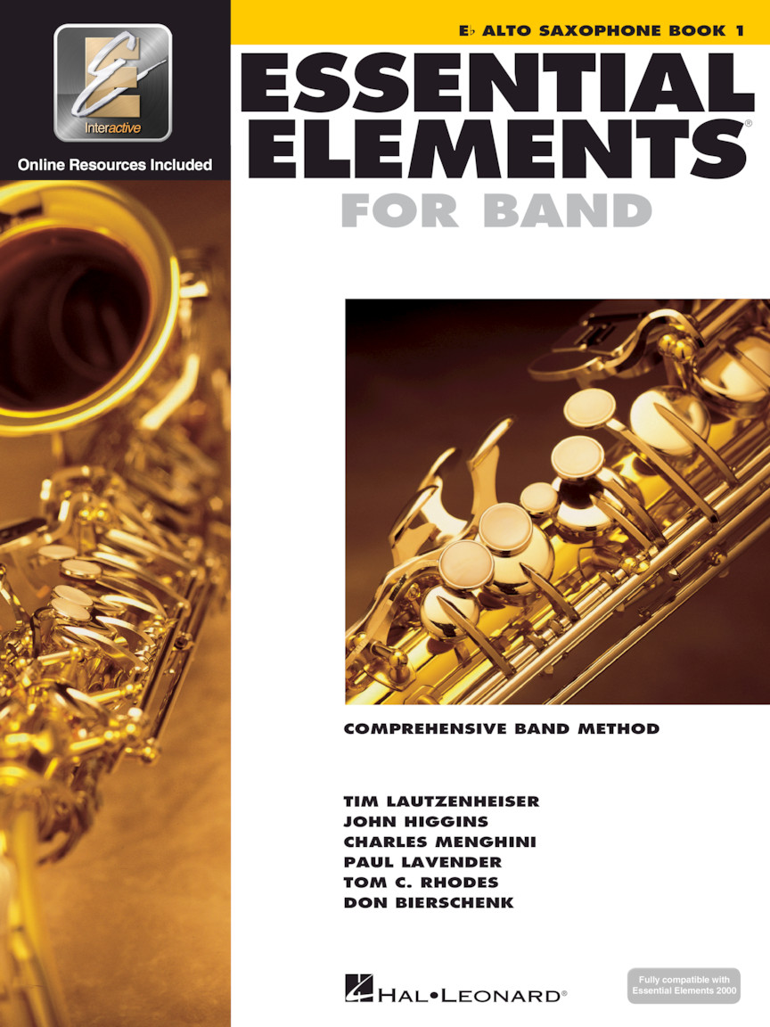 Product Cover for Essential Elements for Band – Eb Alto Saxophone Book 1 with EEi