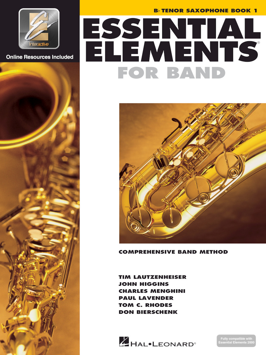 Essential Elements for Band – Bb Tenor Saxophone Book 1 with EEi