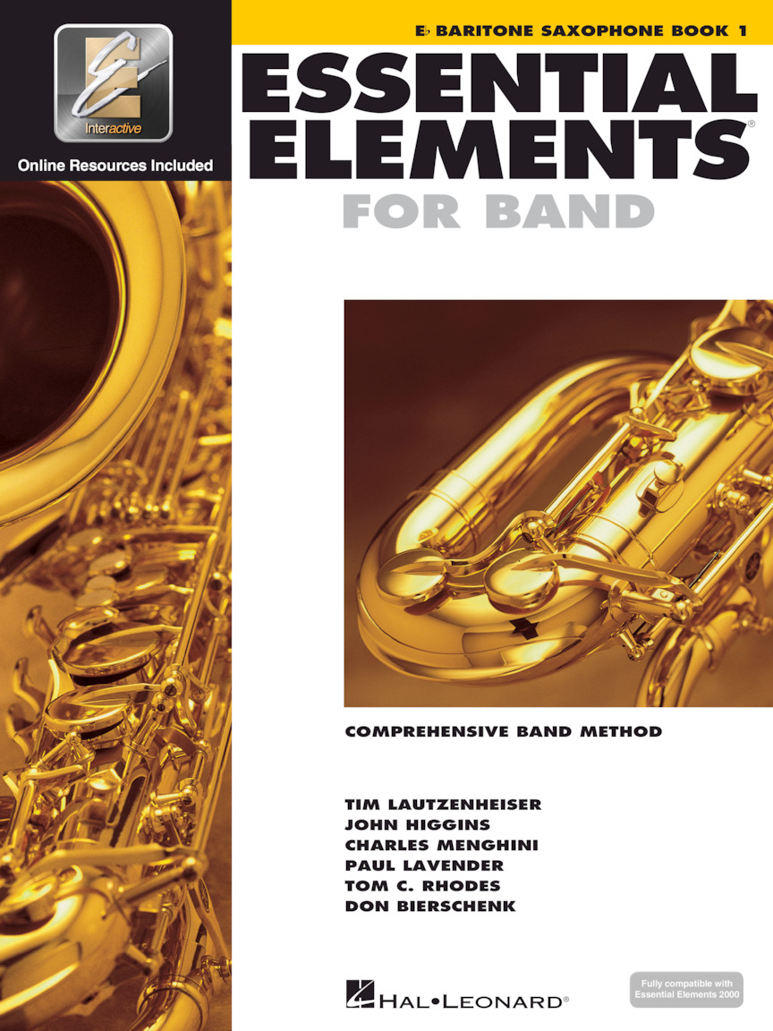 Product Cover for Essential Elements for Band – Eb Baritone Saxophone Book 1 with EEi