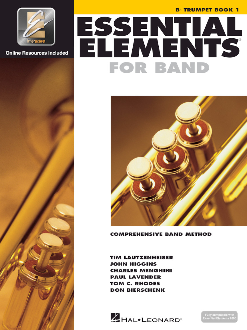 Product Cover for Essential Elements for Band – Bb Trumpet Book 1 with EEi