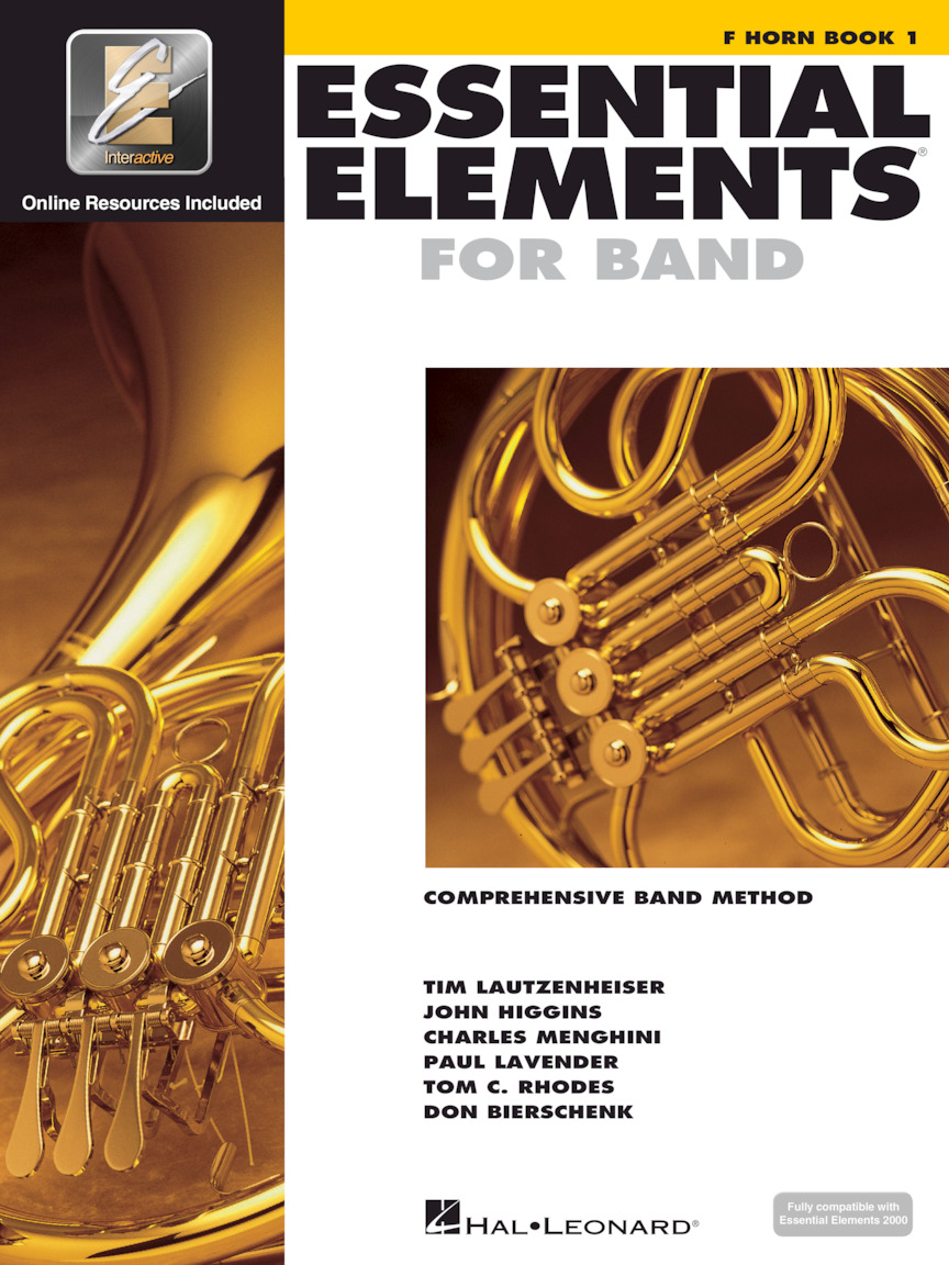 Essential Elements for Band – F Horn Book 1 with EEi