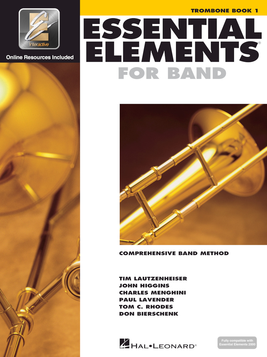 Product Cover for Essential Elements for Band – Trombone Book 1 with EEi