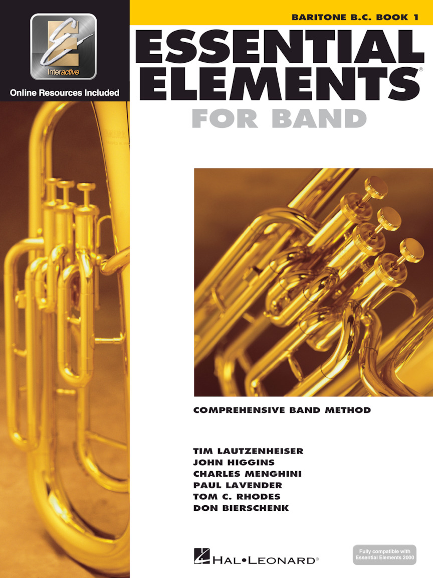 Product Cover for Essential Elements for Band – Baritone B.C. Book 1 with EEi