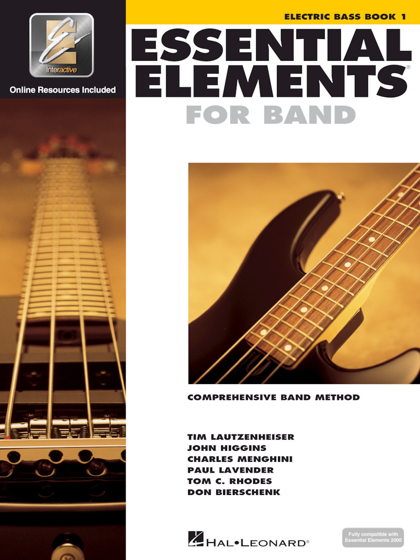 Product Cover for Essential Elements for Band – Electric Bass Book 1 with EEi