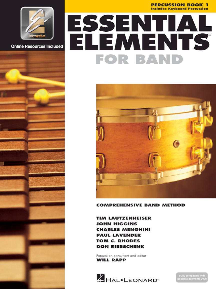 Product Cover for Essential Elements for Band – Percussion/Keyboard Percussion Book 1 with EEi