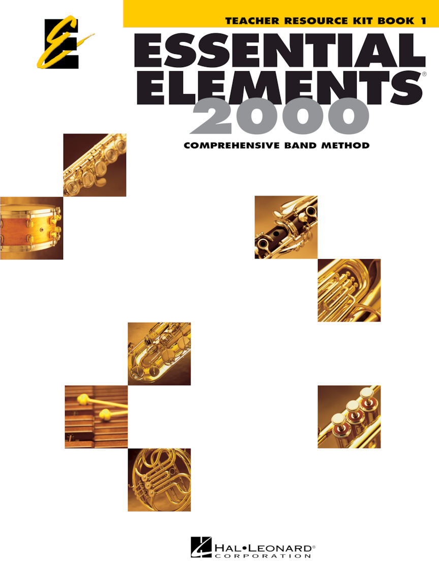 Essential Elements for Band, Book 1 – Teacher Resource Kit with CD-ROM