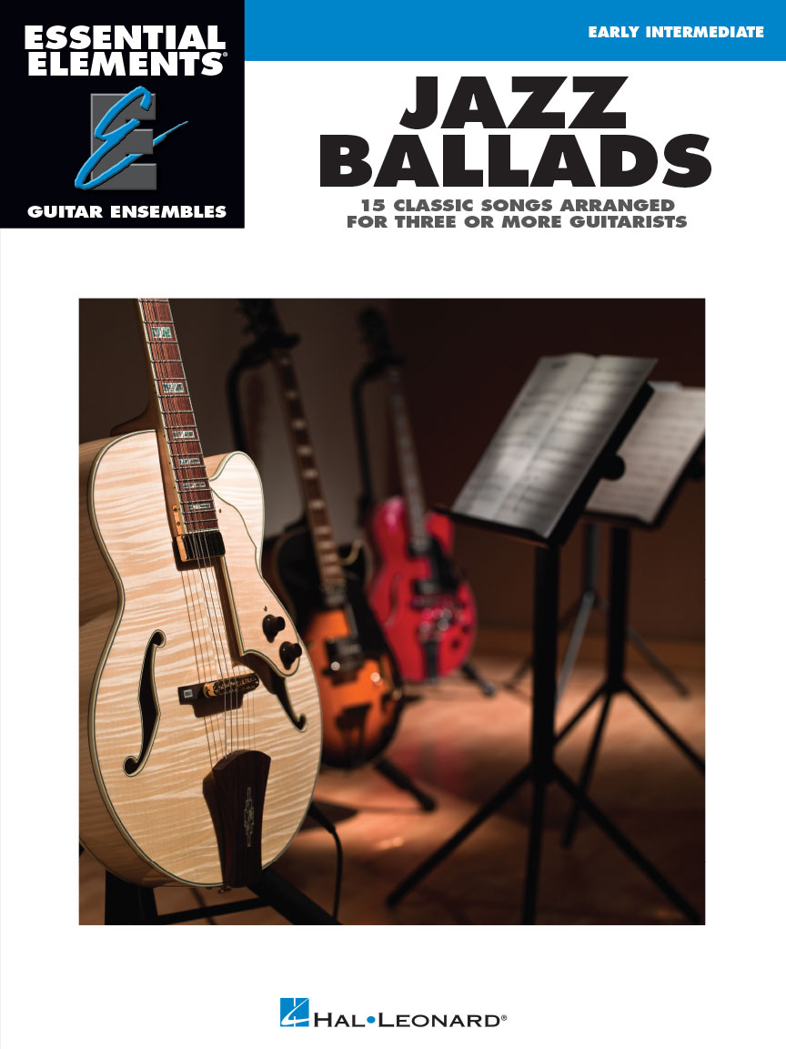 Product Cover for Jazz Ballads – 15 Classic Songs Arranged for Three or More Guitarists