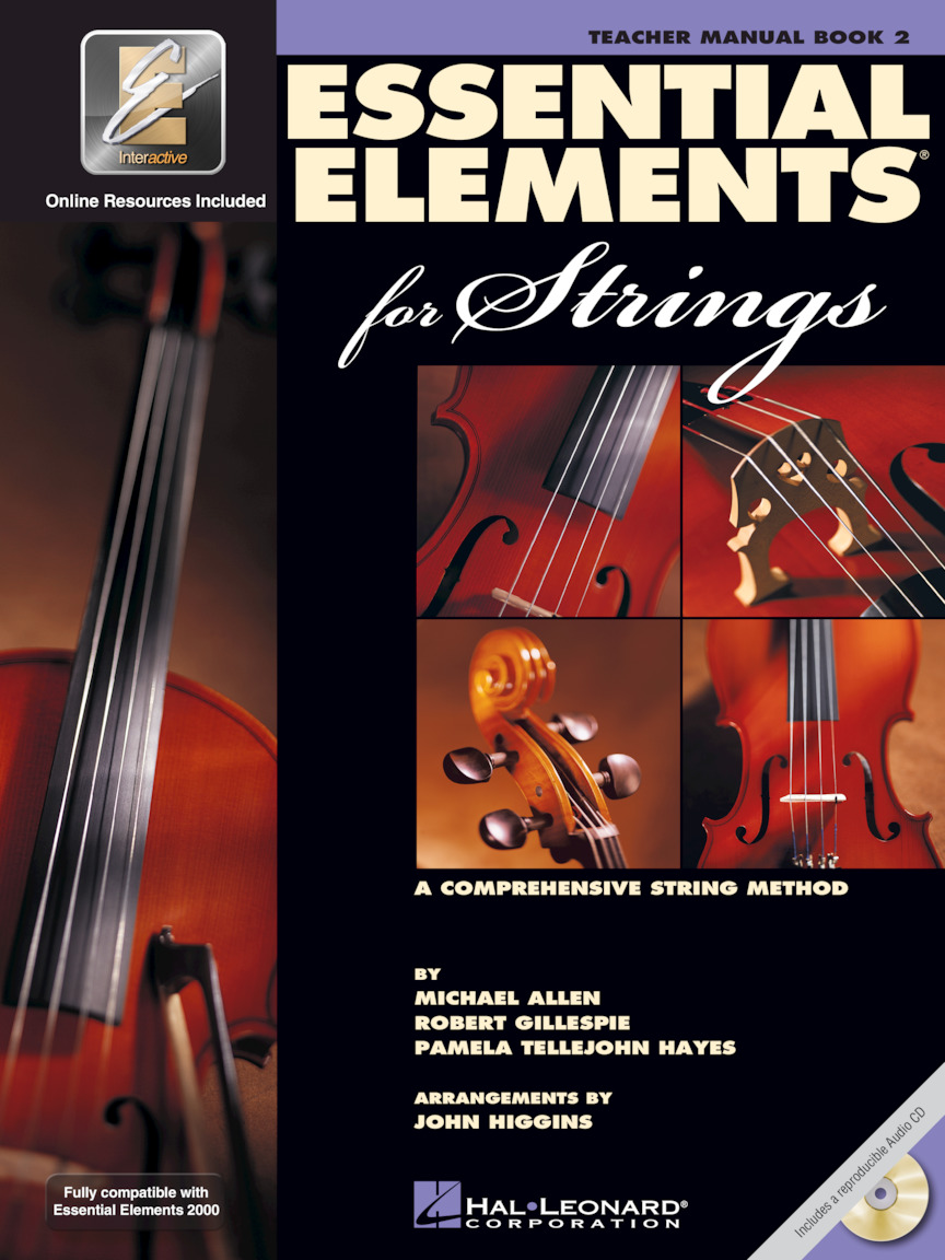 Product Cover for Essential Elements for Strings – Book 2 with EEi