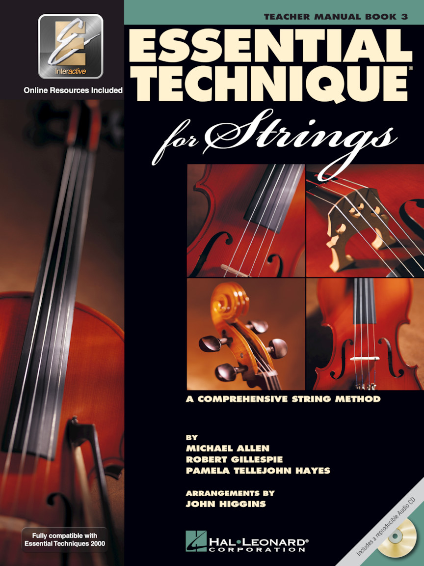 Product Cover for Essential Technique for Strings with EEi