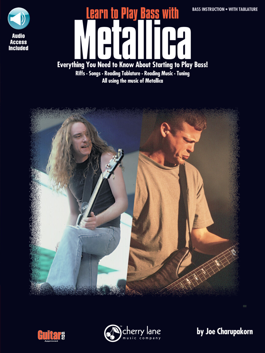 Product Cover for Learn to Play Bass with Metallica