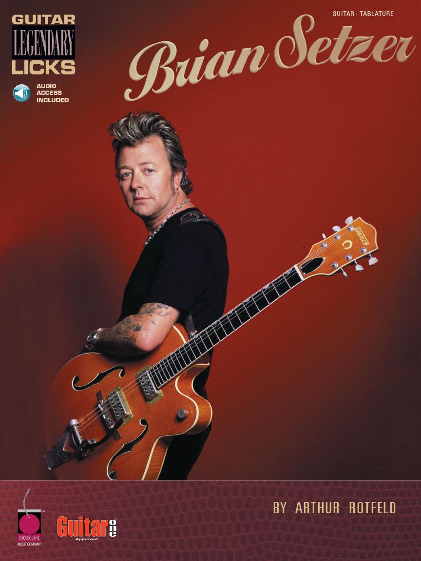 Product Cover for Brian Setzer – Guitar Legendary Licks