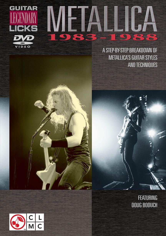Product Cover for Metallica – Guitar Legendary Licks 1983-1988