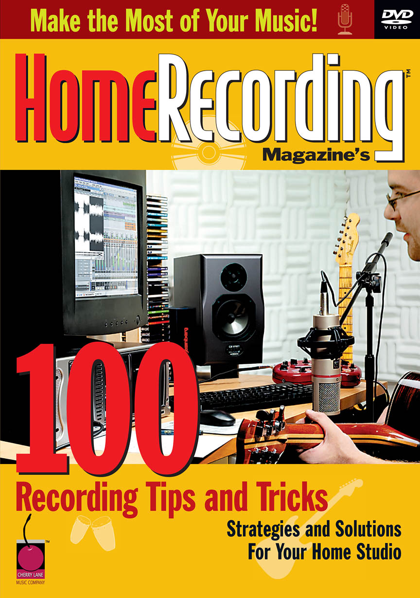 Product Cover for Home Recording Magazine's 100 Recording Tips and Tricks