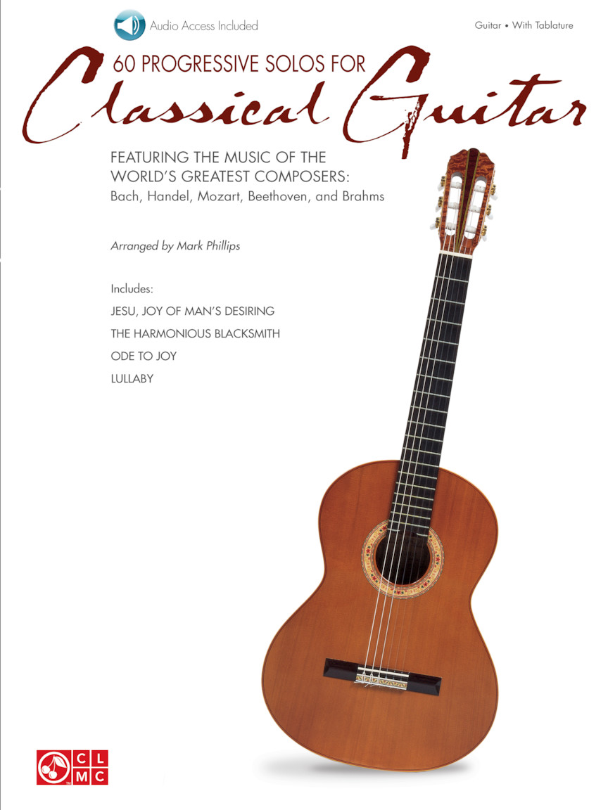 Product Cover for 60 Progressive Solos for Classical Guitar