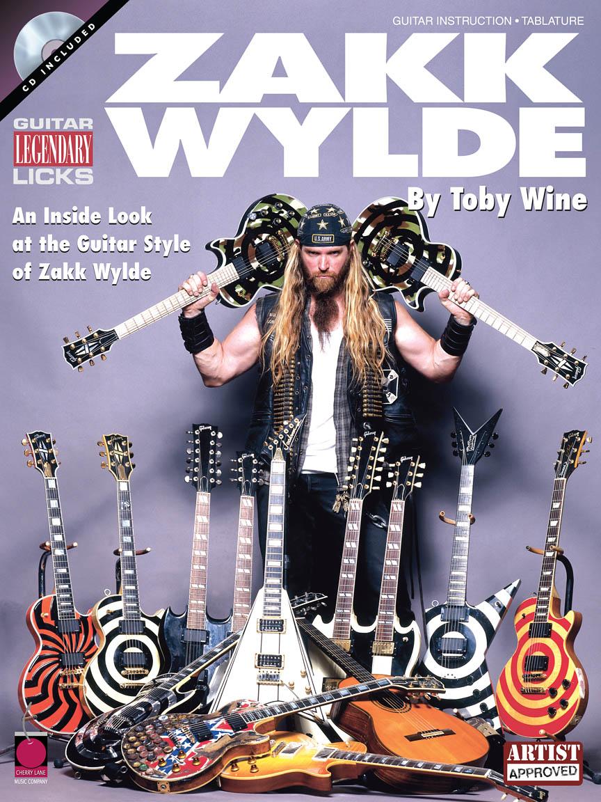 Product Cover for Zakk Wylde – Legendary Licks