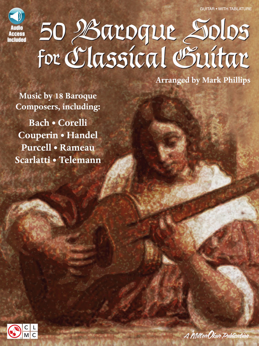 Product Cover for 50 Baroque Solos for Classical Guitar