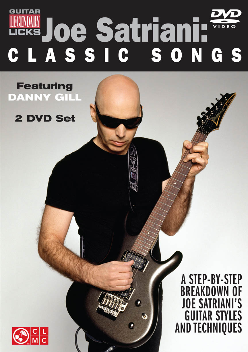 Product Cover for Joe Satriani – Classic Songs