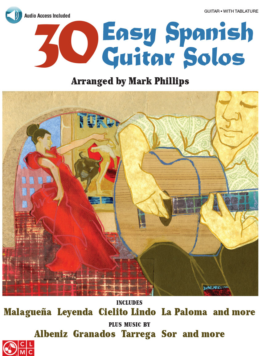 Product Cover for 30 Easy Spanish Guitar Solos