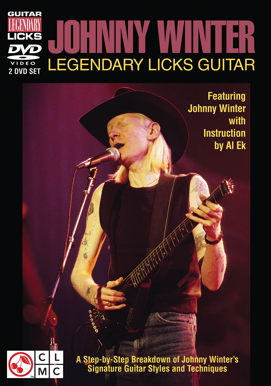 Product Cover for Johnny Winter – Legendary Licks Guitar