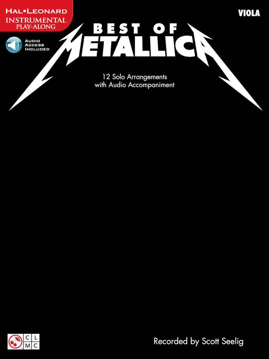 Product Cover for Best of Metallica for Viola