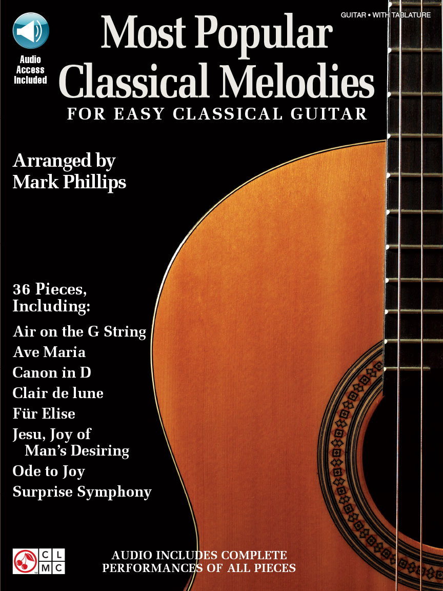 Product Cover for Most Popular Classical Melodies for Easy Classical Guitar
