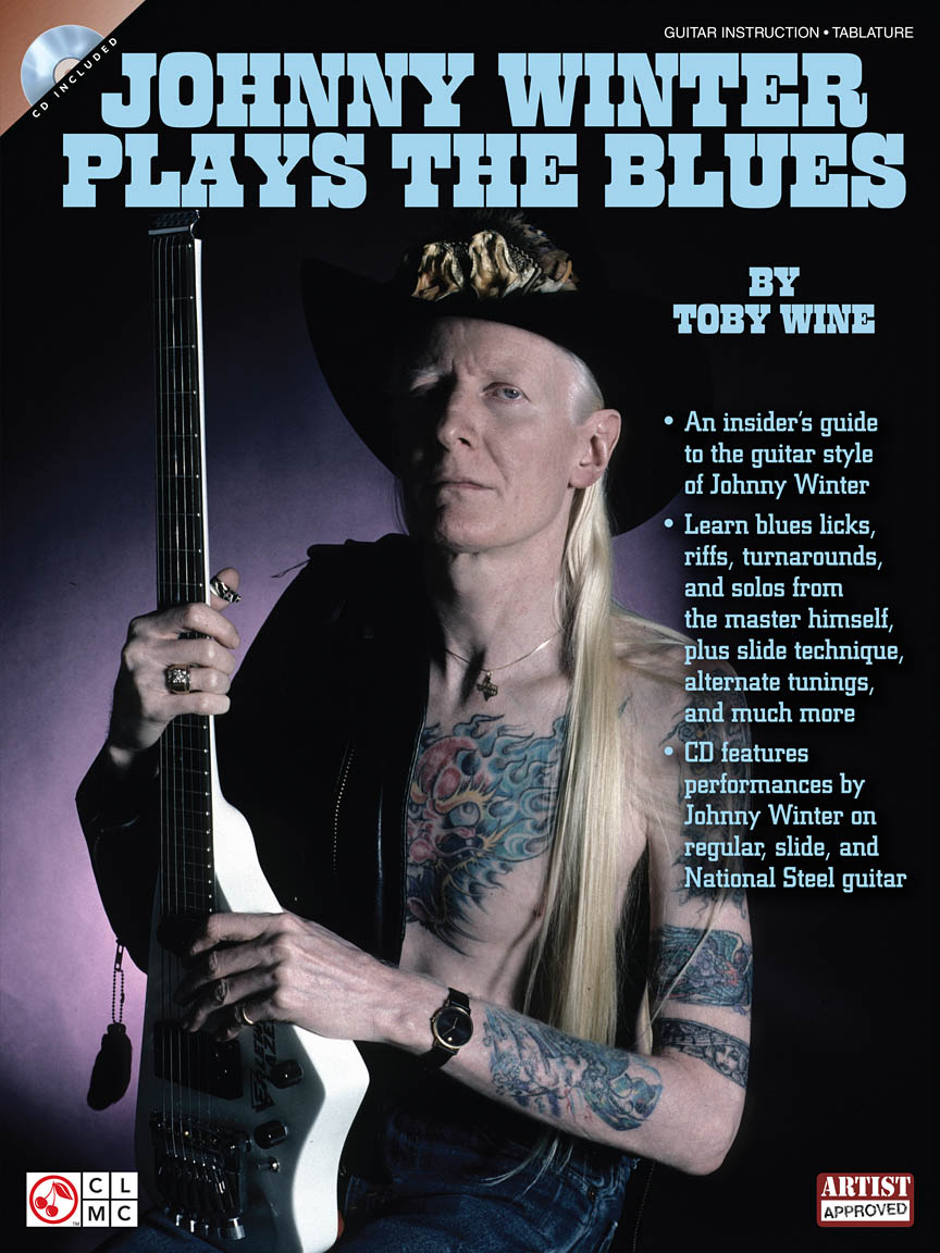 Product Cover for Johnny Winter Plays the Blues