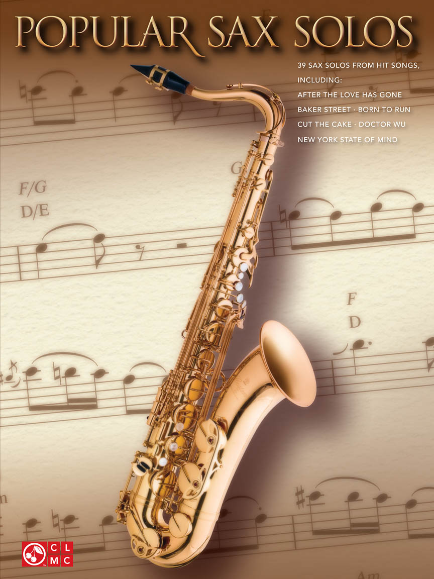 Product Cover for Popular Sax Solos