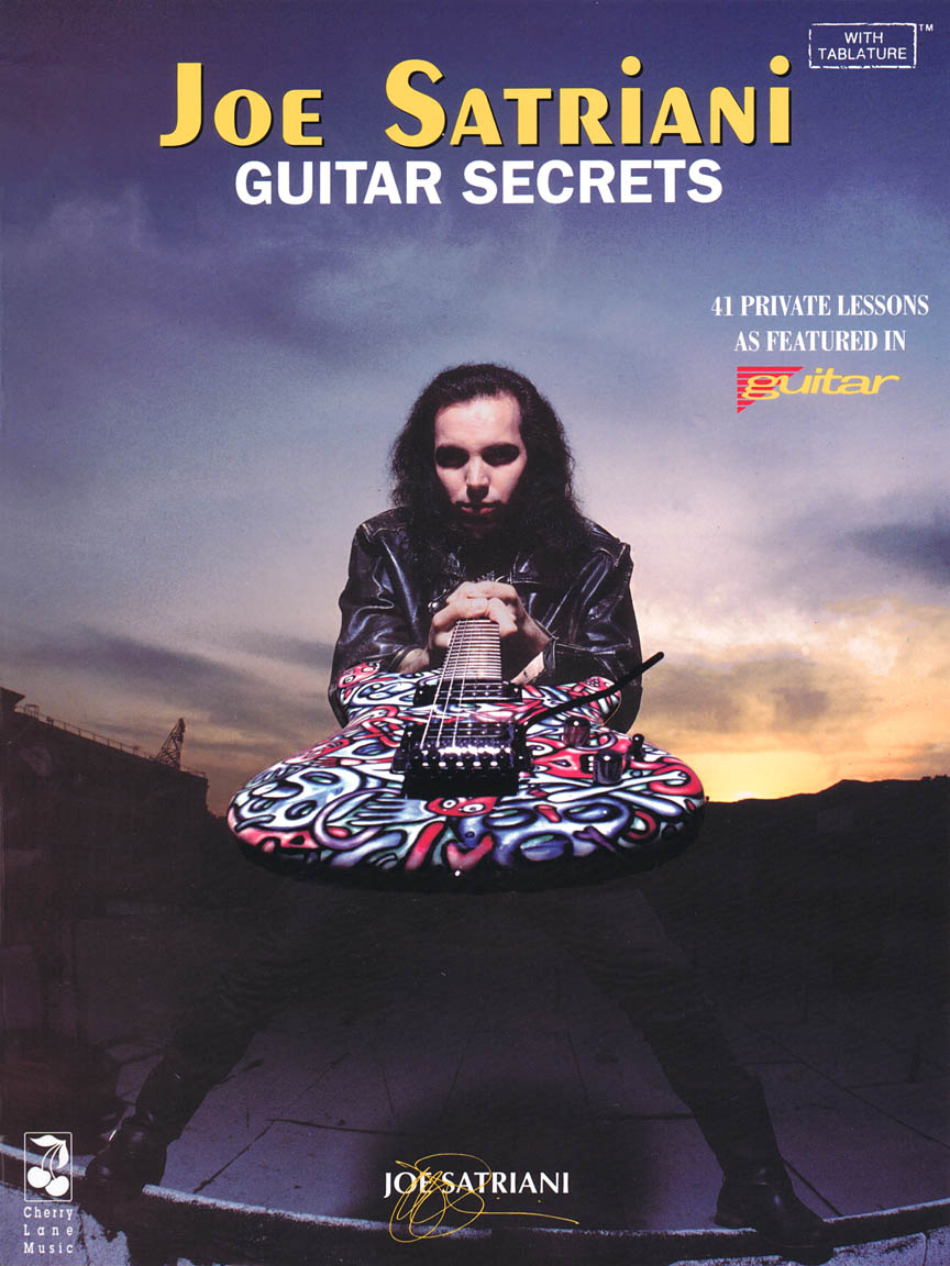 Product Cover for Joe Satriani – Guitar Secrets