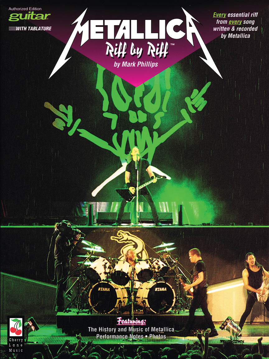Product Cover for Metallica – Riff by Riff – Guitar