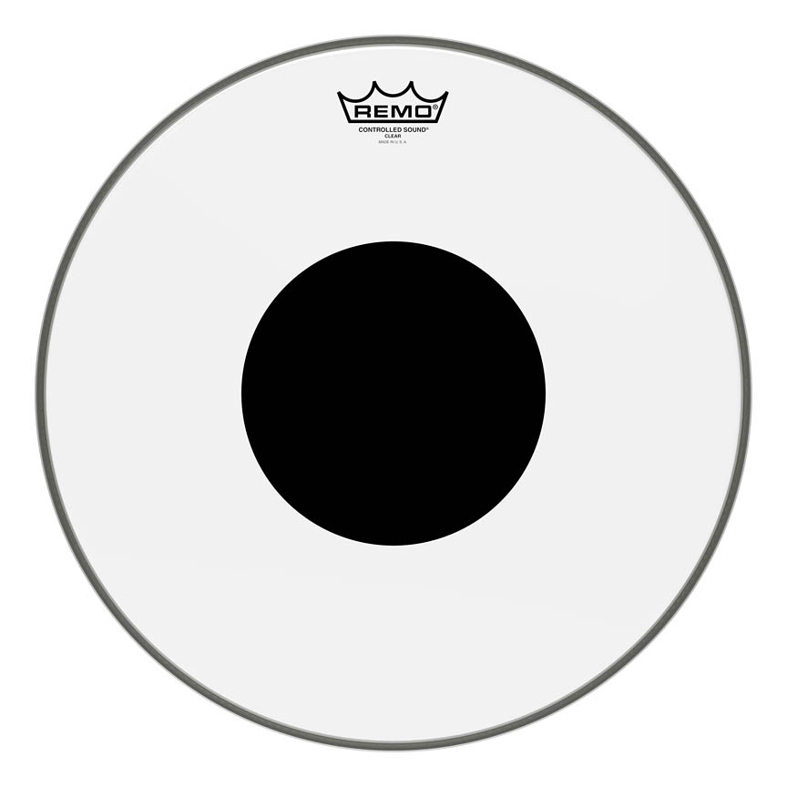 Product Cover for Controlled Sound Series Clear Black Dot Drumhead